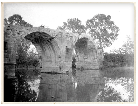 Photo d'archive du Pont Ambroix